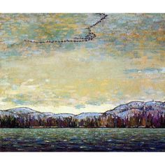 Quality print by Group Of Seven artist Tom Thomson - Chill November; Made In Canada. Group Of Seven Art, Group Of Seven Paintings, Emily Carr, Canadian Painters, Canadian Artists, Landscape Art, Landscape Paintings, Art Paintings, Tom Thomson Paintings
