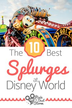 Disney World Extras & Options Worth the Splurge - Pixie Dust Storm