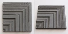 Concrete Relief Tiles | Series ii on Behance MODEL 5.b