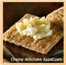 Cheesy Artichoke Appetizers