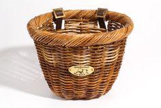 Nantucket Bike Basket Co Cisco Collection Oval Bicycle Basket (Tan, 14 X 11 X 9.5) -- For more information, visit image link.