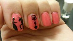 My nails ♡  Prinzessin Einhorn Pfeil