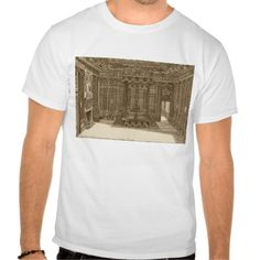 Design for a Bedchamber with a State Bed, from the T Shirt, Hoodie Sweatshirt