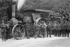 Steam road Locomotive, Poole, c1915