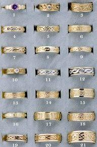 Scottish Mens Wedding Rings