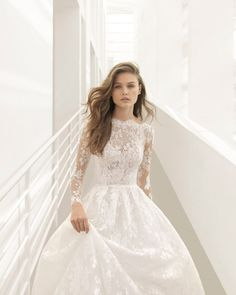 Rosa Clará 2018 Fall and Winter Bridal Collection #weddings #weddingdresses