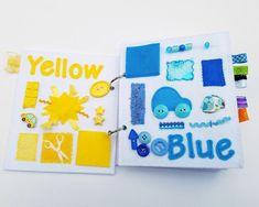 My First Book of Colors quiet book (felt book/busy book) Rick Rack, Sensory Book, Baby Sensory, Good News, Custom Christmas Stockings, Kindergarten Graduation, Busy Book, Quiet Books, Basic Colors