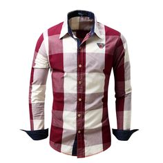 Now available on our store: Men's Casual Shir... Check it out here! http://lestyleparfait.co.ke/products/mens-casual-shirts-plaid-shirts-red-blue-black-brown?utm_campaign=social_autopilot&utm_source=pin&utm_medium=pin #onlineshoppingkenya #fashionkenya #stylekenya