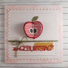 Dieser Apfel wartet schon lange auf seinen Auftritt, jetzt hat er ihn...🍎 #charlieundpaulchen #charlieundpaulchende #lovepaper… Berries, Happy Birthday, Fruit, Cooking, Cards, Food, Decor, Apple, Happy Brithday