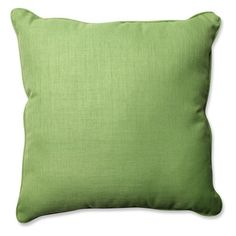 Pillow Perfect Solid 25 in. Square Floor Pillow