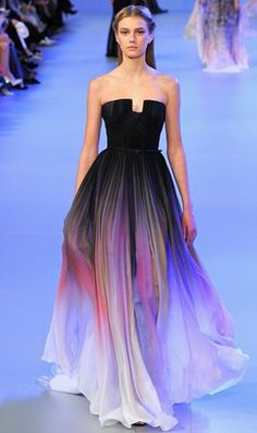 Just in - Elie Saab couture show GRADATION