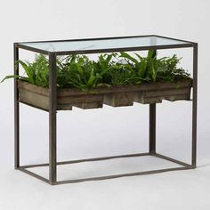 This table that is also a planter. This looks like something I should own.