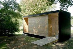 walk in camera obscura, eye pod by cermak rhoades architects