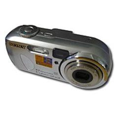 B Sony Cyber-shot DSC-P73 4.1 Megapixels 2304 x 1728 3x Optical Zoom 16 MB Flash Memory Stick Digital Camera