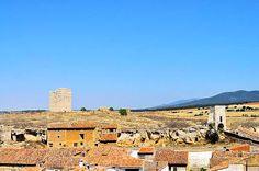 langa del castillo - zaragoza - españa