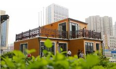 3ders.org - Chinese company ZhuoDa unveils two-story '3D Module Villas' being built in less than three hours | 3D Printer News & 3D Printing News
