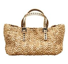 Spring/Summer 2010 Accessory Must-Have: The Updated Woven Straw Bag :Woven Handbags & Purses – All Woven Bags & More