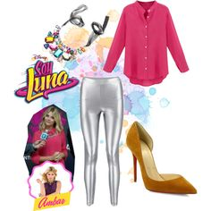 soy luna by maria-cmxiv on Polyvore featuring moda and Christian Louboutin