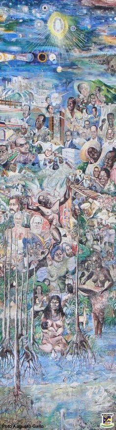 Mural de #Buenaventura #ValledelCauca #Colombia