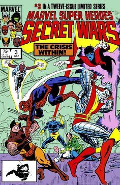Marvel Super-Heroes Secret Wars #3 (Jul '84) cover by Mike Zeck & John Beatty