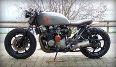 "Revolution! Honda CB750 Seven Fifty Rat Bike ""Babushka"" by Alex #motorcycles #ratbike #motos | caferacerpasion.com"