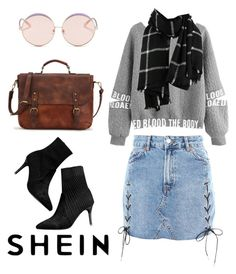"""Value Friendly #2"" by alysha-miranda on Polyvore featuring Topshop and N°21"