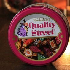 Mackintosh's Quality Street Vintage Tin