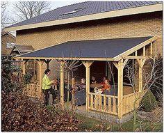 Ideas For Backyard Patio Roof Design Patio Fence, Patio Roof, Diy Patio, Backyard Patio, Poured Concrete Patio, Mobile Home Porch, Covered Patio Design, Gazebo Pergola, Bois Diy