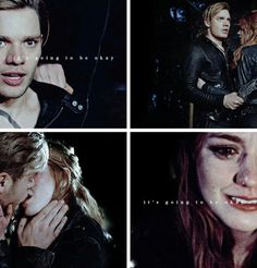 Clace reassuring each other that everything is okay (2x20)