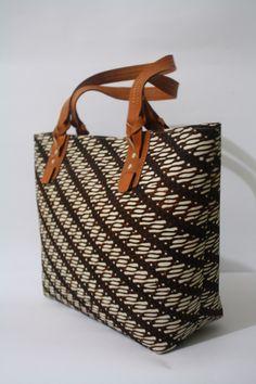 Anjani Tote Bag in Parang Batik combination   #djokdjabatik