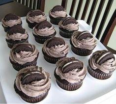 Perfectly Chocolate Oreo Cupcakes | #chocolate #cupcakes #Oreo #Perfectly