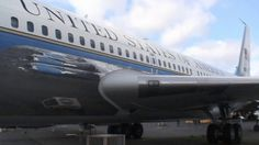 During a March 2008 trip to the outdoor Airpark at Seattle's Museum of Flight, Carole Anne takes us through the first Boeing 707 jet plane used as Air Force… Boeing 707, Jet Plane, Air Force Ones, Us Presidents, Museum, Ford, March, Paint, Vacation