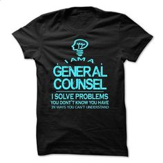 i am a GENERAL COUNSEL - #red shirt #workout tee. ORDER NOW => https://www.sunfrog.com/LifeStyle/i-am-a-GENERAL-COUNSEL-28576838-Guys.html?68278
