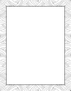 Abstract Pattern Border