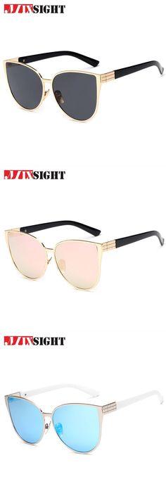 1f270e5d913 2018 oversize cat eye sunglasses women fashion summer style big size frame  mirror sun glasses female