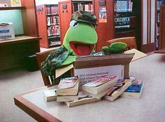 frog librarian