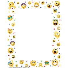 Emoticons Computer Theme Paper   Eureka School