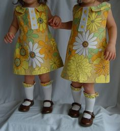 Mod 60s A-line Dress Tutorial by Double Stitching #sewing #AG #americagirl