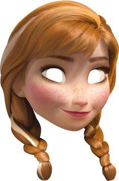 Rubie's Anna Frozen Card Mask (336644)