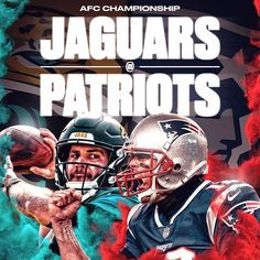 The Jaguars will battle the Patriots in the AFC Championship Game. Best Football Team, Football Memes, Sports Memes, Funny Football Pictures, Afc Championship, Nfl New England Patriots, Jacksonville Jaguars, American Football, Battle