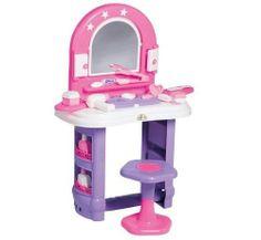 Penteadeira Infantil Brinquedo Miss Glamour Cls320 Calesita - R$ 60,00