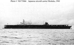 IJN aircraft carrier Shokaku, 1941 - 日本帝国海軍航空母艦-翔鶴, 昭和16年. (yahoo.image) 12.16
