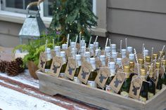 Woodsy Whimsical Baby Shower Favors