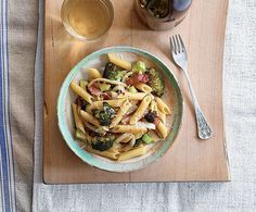 Just wanted to share this delicious recipe from Lidia Bastianich with you - Buon Gusto! Penne with Broccoli, Garlic, and oil