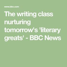 As the National Book Award judges prepare to announce this year's winner, the BBC goes inside one of the US's most prestigious writing classes. Colum Mccann, Mfa Programs, Writing Classes, National Book Award, Bbc News, Writer, Math Equations, Books, Libros