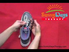A helpful video on teaching your child how to tie his/her shoes!  Happy tying!