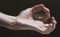 Hyperrealist oil painting by Javier Arizabalo - yes, painting, not photography