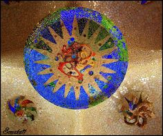 Gaudi's Mosaic - Barcelona
