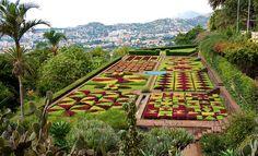 Monte Palace garden. Madeira