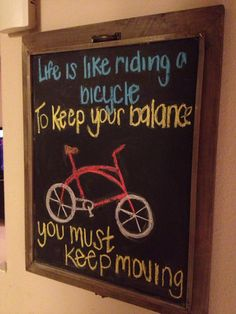 Chalkboard art quotes
